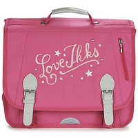 Bags Girl Satchels Ikks LOVE IKKS CARTABLE 38CM Pink