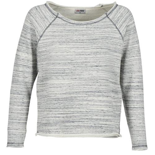 material Women sweaters Yurban FLIMANE Grey / Blue