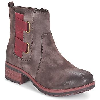 Shoes Women Mid boots Rieker ZINETTE Brown
