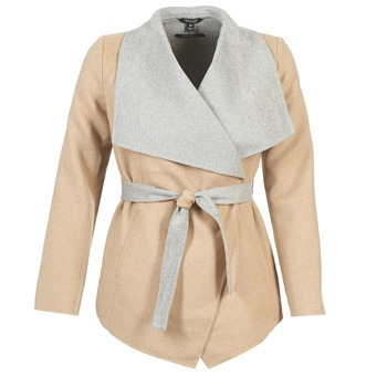material Women coats Tom Tailor JAZOUVE BEIGE / Grey