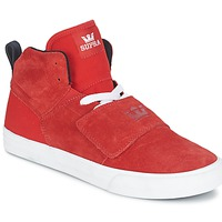 Shoes Men High top trainers Supra ROCK Red