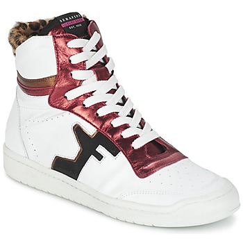 Shoes Women High top trainers Serafini SAN DIEGO White / Red