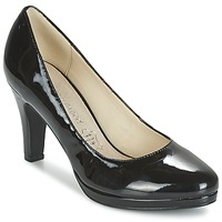 Shoes Women Court shoes Moony Mood FEROU Black / VARNISH
