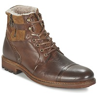 Shoes Men Mid boots Casual Attitude FIRDAOUS Brown