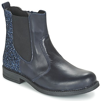 Shoes Girl Mid boots Citrouille et Compagnie HAYULE Marine