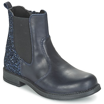 Shoes Girl Mid boots Citrouille et Compagnie FAGIMO Blue