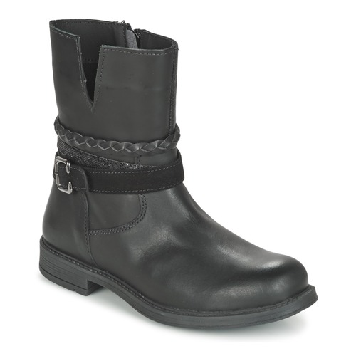 Shoes Girl Mid boots Citrouille et Compagnie FURAMO Black