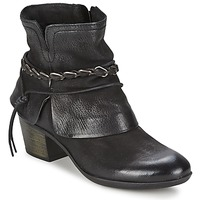 Shoes Women Ankle boots Dream in Green BAKKAR Black