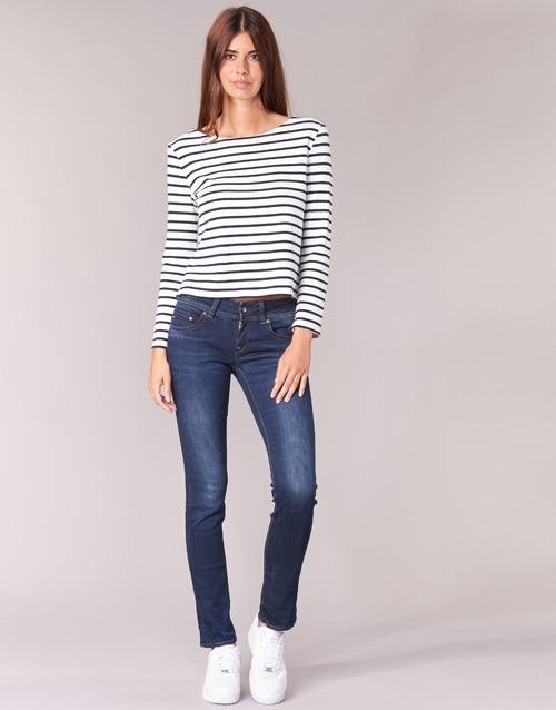material Women straight jeans G-Star Raw MIDGE SADDLE MID STRAIGHT Denim