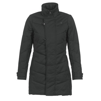 material Women Parkas G-Star Raw MINOR CLASSIC QLT COAT Black