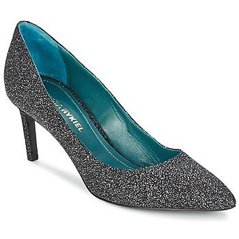 Shoes Women Court shoes Sonia Rykiel 677620 Black / GLITTER