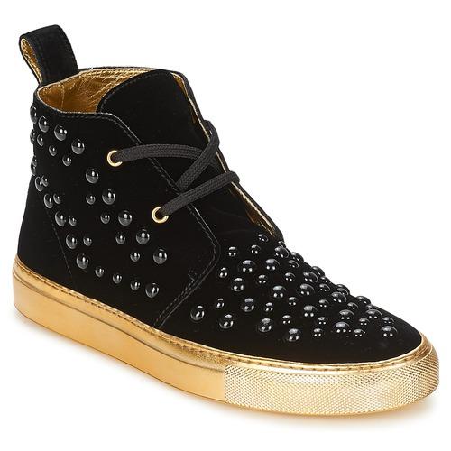 Shoes Women High top trainers Sonia Rykiel 670183 Black