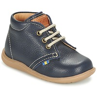 Shoes Boy Mid boots Kavat HAMMAR LACE Blue