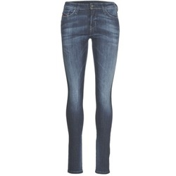 material Women slim jeans Diesel SKINZEE Blue / 0856G