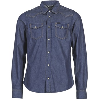 material Men long-sleeved shirts Diesel NEW SONORA Blue
