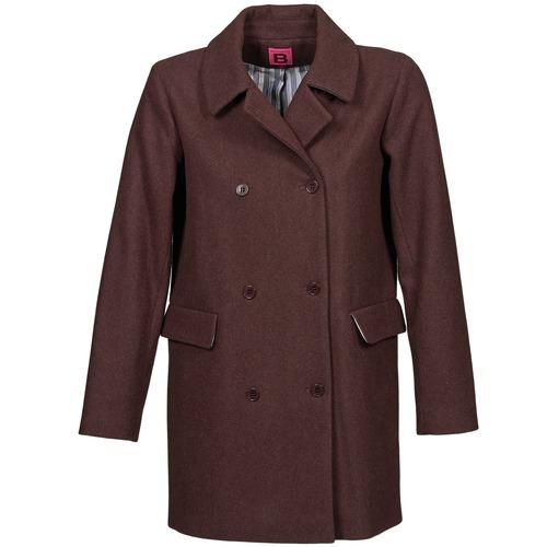 material Women coats Bensimon WHITER Prune