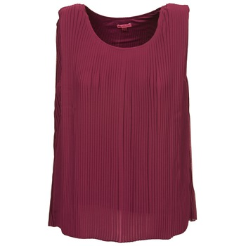 material Women Tops / Sleeveless T-shirts Bensimon REINE Prune