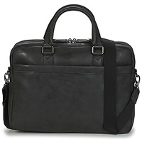 Bags Men Briefcases Hexagona PORTE DOC FOIVO Black