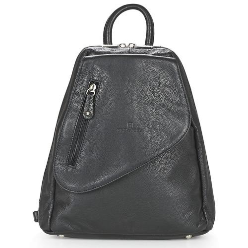 Bags Women Rucksacks Hexagona BACK LOILO Black