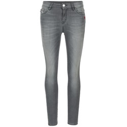 material Women slim jeans Love Moschino MANI Grey