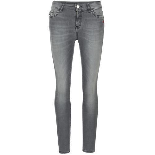 material Women slim jeans Love Moschino MANI Grey