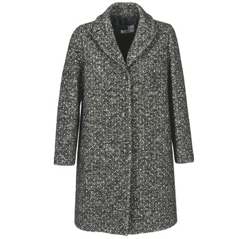 material Women coats Love Moschino MANSOI Grey