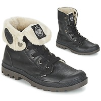 Shoes Women Mid boots Palladium BAGGY LEATHER FS Black