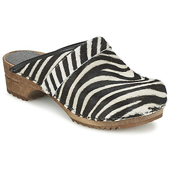 Shoes Women Clogs Sanita CAROLINE Zebra