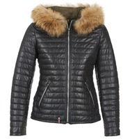 material Women Duffel coats Oakwood 61677 Black
