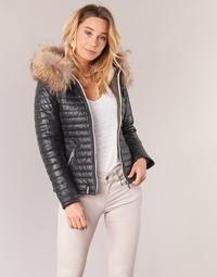 material Women Duffel coats Oakwood 61677 Black