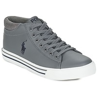 Shoes Boy High top trainers Ralph Lauren HARRISON MID Grey