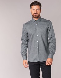 material Men long-sleeved shirts Casual Attitude FOLI Grey