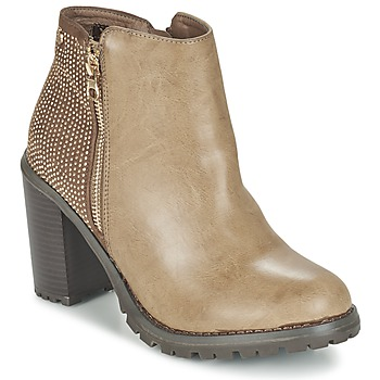 Shoes Women Ankle boots Xti LOUNI TAUPE