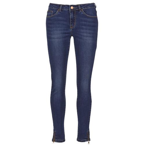 material Women slim jeans Moony Mood IFABANE Blue