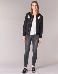 material Women slim jeans Yurban IFABANE Grey