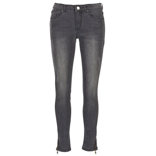 material Women slim jeans Moony Mood IFABANE Grey