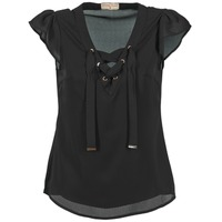 material Women Blouses Moony Mood FADOU Black
