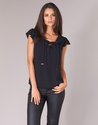 material Women Blouses Moony Mood IFADOU Black
