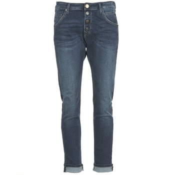 material Women straight jeans Replay PILAR Blue