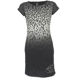 material Women Short Dresses Desigual BELFUME Black / White