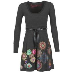 material Women Short Dresses Desigual RIDOUBA Grey