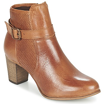 Shoes Women Ankle boots Betty London FAZELLE CAMEL