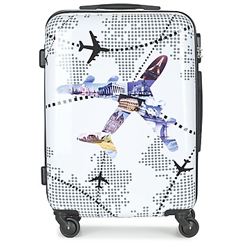 Bags Hard Suitcases David Jones OUSKILE 50L Multicoloured