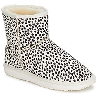 Shoes Women Mid boots Booroo MINNIE LEO TAUPE / Leo