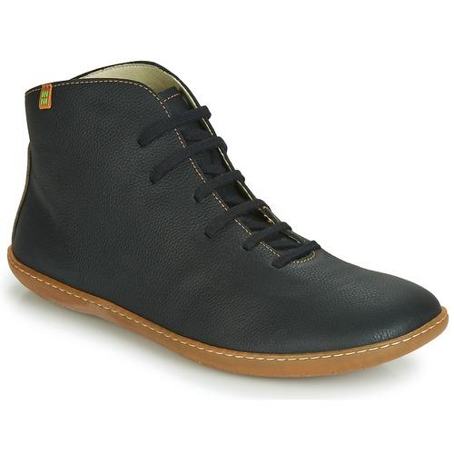 Shoes Mid boots El Naturalista EL VIAJERO Black