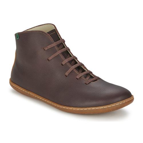 Shoes Mid boots El Naturalista EL VIAJERO Brown