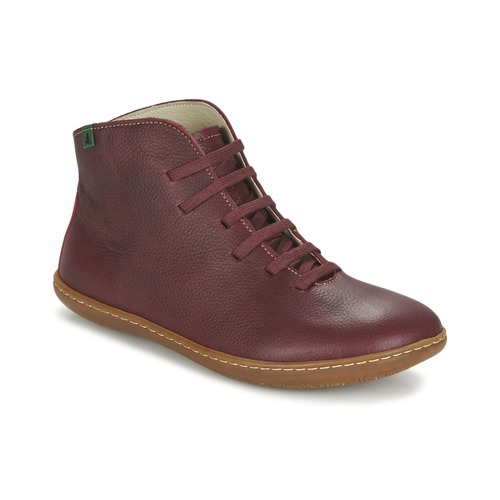 Shoes Women Mid boots El Naturalista EL VIAJERO Bordeaux