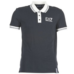 material Men short-sleeved polo shirts Emporio Armani EA7 OKOLAMI MARINE