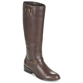 Shoes Women Boots Ralph Lauren MARRONA Brown