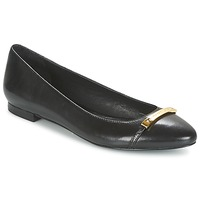 Shoes Women Ballerinas Ralph Lauren FARREL-FLATS-CASUAL Black